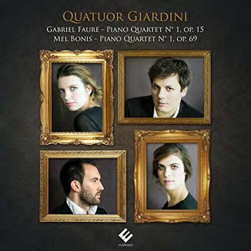 Giardini Piano Quartet - Faure Bonis Quartets with Piano [CD]