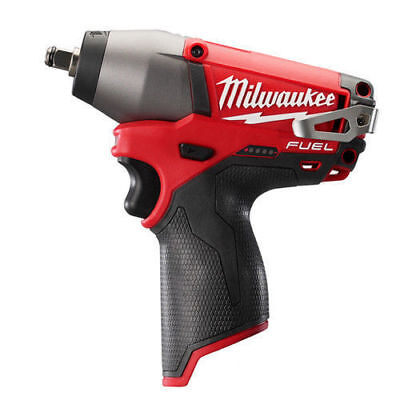 "Milwaukee M12 FUEL 12V Li-Ion 3/8"" Impact Wrench (Bare Tool) 2454-20 New"