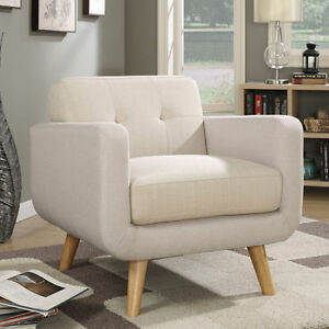 Beautiful Beige Accent Chair