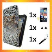 Samsung Galaxy S2 Hülle Leopard