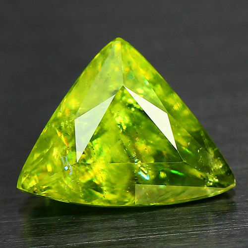 1.40 CTS_WORLD CLASS LIMITED EDITION_100 % NATURAL TITANITE GREEN SPHENE_RUSSIA