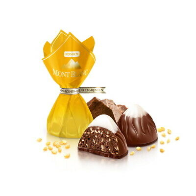 Ukrainian Sweets Roshen Chocolate Candy Montblanc With