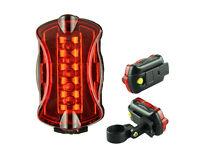 5 LED Waterproof Bike Tail Light