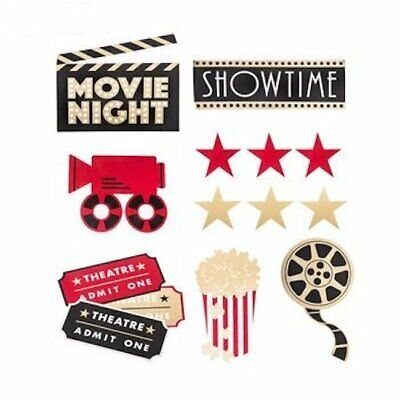 Movie Night Cut-Outs Party Supplies Decoration Special Events 12 - Movie Night Cut Outs