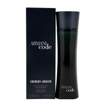 Armani Code by Giorgio Armani 4.2 oz EDT Cologne for Men New In Box
