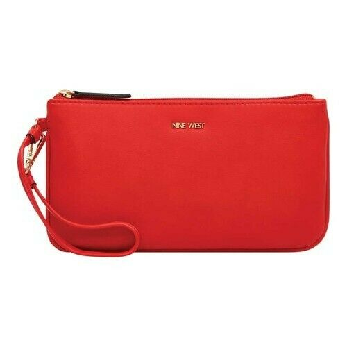wristlet fiery red east west wristlet
