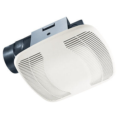 Air King BFQ140 White 120 CFM 4.0 Sone Exhaust Fan with Snap-In Installation