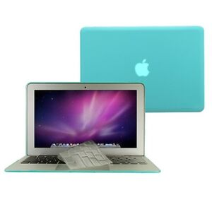 2-in-1-Rubberized-TIFANY-BLUE-Case-for-Macbook-AIR-11-A1370-TPU-Keyboard-Cover