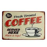 Antique Coffee Sign