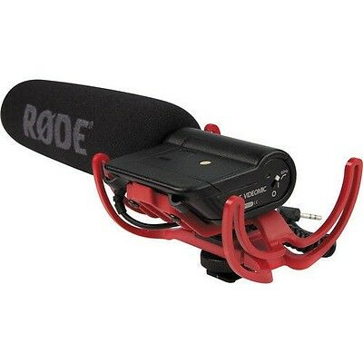 Rode VideoMic-R Directional On-Camera Condenser Shotgun Microphone NEW