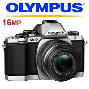 RFB OLYMPUS OM-D E-M10 CAMERA KIT 238156528 14-42mm LENS MIRRORLES MACRO FOUR THIRDS DIGITAL PHOTOGRAPHY REFURBISHED