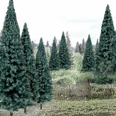 "Woodland Scenics Ready Made Trees Value Pack, 13 Blue Spruce Trees 4-6"" #TR1588"