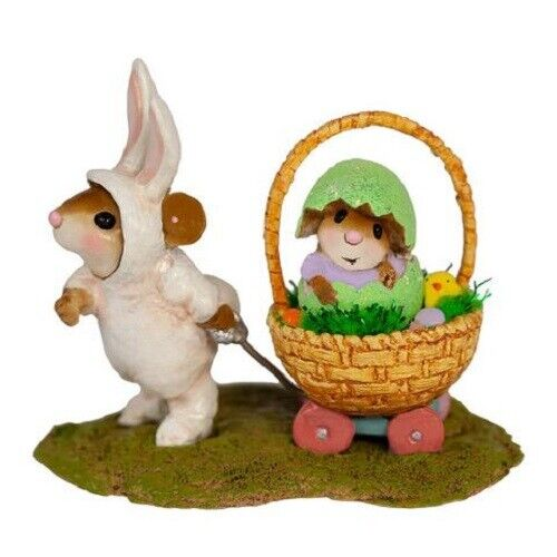Wee Forest Folk M-668 Easter Welcome Wagon
