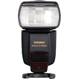 Yongnuo Flash - YN565EX & FREE set of flash gels with holder