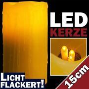 LED Kerzen Wachs