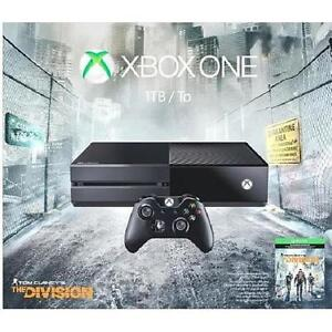 NEW OB XBOX ONE 1TB GAME CONSOLE MICROSOFT - TOM CLANCY'S THE DIVISION BUNDLE - VIDEO GAMES - SYSTEMS 102119418