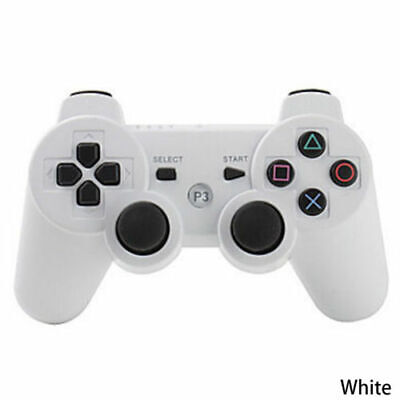 3rd Party white Wireless Gamepad Controller for PS3 Playstation 3 Console UK POS