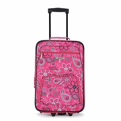 74e617505 Rockland Luggage Rio 2 Piece Carry On Luggage Set 29 Colors | eBay