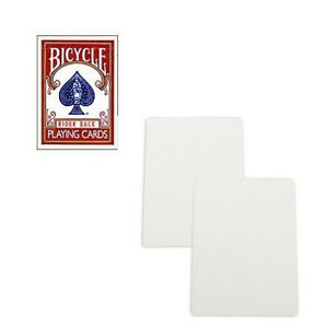 Double Blank Face Bicycle Deck , Regular Index