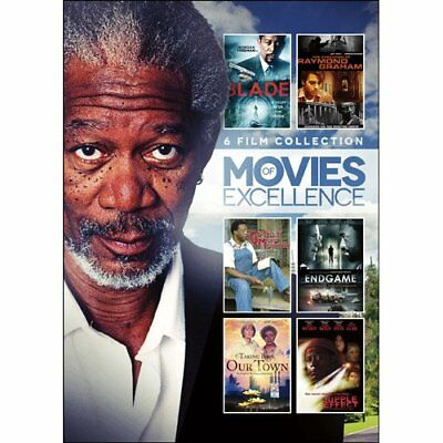 MORGAN FREEMAN 6 Film Collection Vol. 2 (Movies of Excellence, 2-DVD Set) >NEW