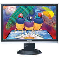 "Viewsonic 20"" Widescreen LCD Flat Panel Monitor"