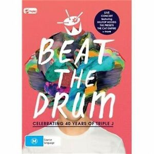 TRIPLE J BEAT THE DRUM LIVE EVENT VARIOUS ARTISTS DVD ALL REGIONS PAL NEW