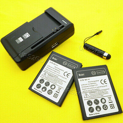 For T-Mobile Samsung Gravity SMART SGH-T589 Phone Battery or Travel Home Charger ()