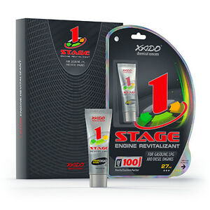 2 Pack XADO 1 Stage Engine Treatment Additive-without RETAIL PACKAGING