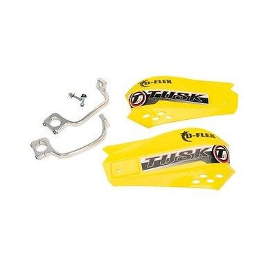 Motocross MX Handguards Tusk MX D-Flex Yellow SUZUKI guards gaurds dirt bike