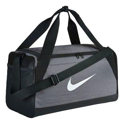 Bolsa de deporte Nike Brasilia Small Duffel gris S
