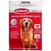 NUHEART Heartworm Tablets for all Dog 6 tablets/pack Worming dog Welshpool Canning Area Preview