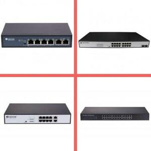 Weekly Promo! BDCOM POE Switch, 6 port,10 port,16 port,24 port, starting from $65 and up