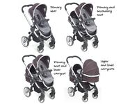 iCandy double carrycot and stroller - Excellent condition