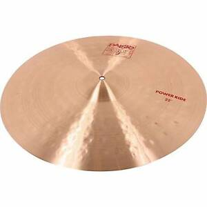 "Paiste 2002 - 22"" Power Ride Coorparoo Brisbane South East Preview"