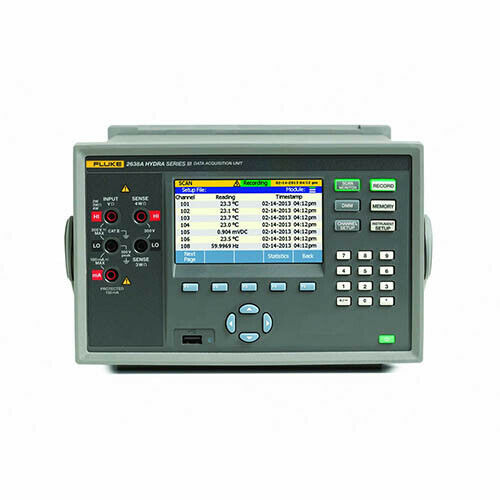 Fluke Calibration 2638A/05 120 22 Ch Hydra Series III Data Acq System