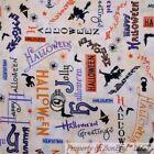 Halloween Upholstery Craft Fabrics