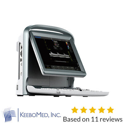 Color Doppler Vascular Ultrasound Scanner With Two Probes Battery - Chison Eco5