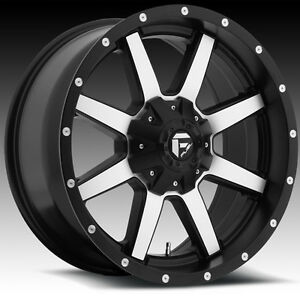 "Roues 18"" Wheels Fuel Maverick Jeep Wrangler JK TJ Wheel Roue"