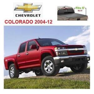 NEW TONNO 6' TRIFOLD TONNEAU COVER 42-103 219264598 CHEVROLET COLORADO 2006-2012