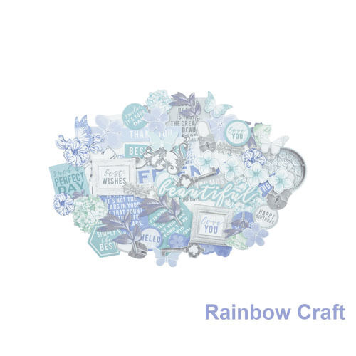2016-2019 Kaisercraft Die Cuts Scrapbooking collectables 62 option Embellishment - Lilac Whisper
