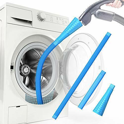 Dryer Vent Cleaner Kit Dryer Vent Vacuum Attachment Lint Remover Light Blue
