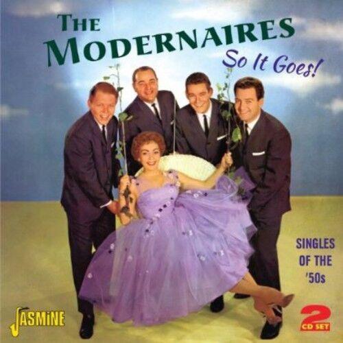 The Modernaires - So It Goes [New CD] UK - Import