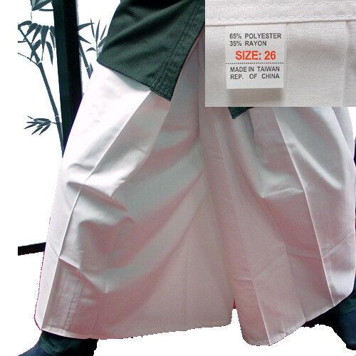 Hakama weiß für Aikido, Kendo