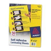 Self Adhesive Laminating Sheets