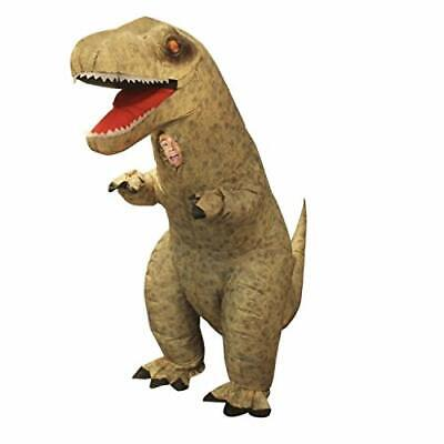 Morph Men's Giant T-rex Inflatable Costume,, T-rex Dinosaur, Size Adults qTqD