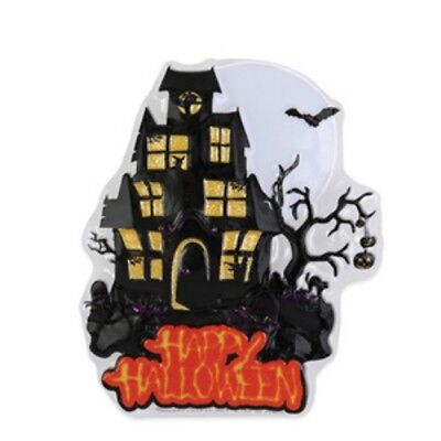 Happy Halloween Haunted House Cake Topper - Pop Top