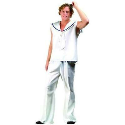 White Sailor Adult Costume CLOSEOUT
