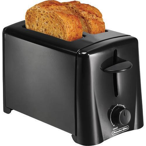 Proctor Silex 2-Slice Toaster Black 22612