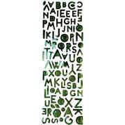 Alphabet Peel Off Stickers