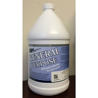 4 Gallons Ultrasonic General Purpose Solution Cleaner Liquid